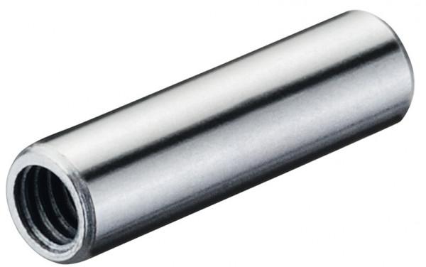 Gewindehülse MINIFIX aus Stahl mit M4 Gewinde