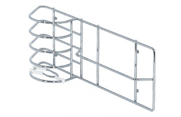 Kesseböhmer Kehrblech- und Fegerhalter Stahl Gerätehalter-System für Einhängeschiene