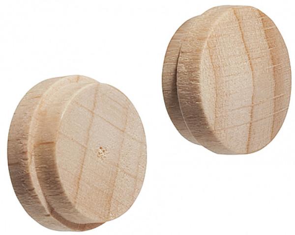 Häfele Abdeckkappe für Blindbohrung Ø 15 mm Massivholz