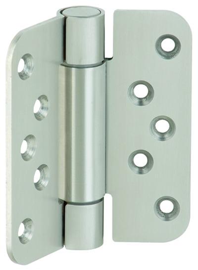 Häfele Startec Objekttürband, Größe 100 mm - für ungefälzte Türen