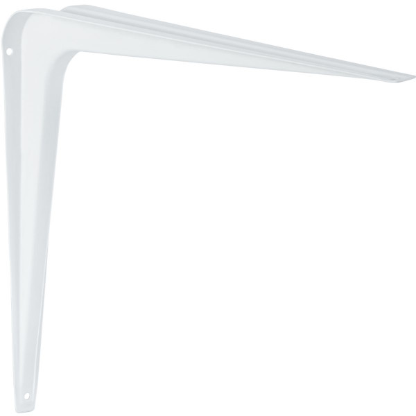 Konsole aus Stahlblech weiß Tragkraft bis 80 kg