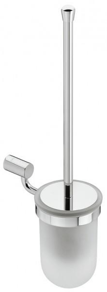 Häfele WC-Bürstengarnitur rund messing verchromt poliert