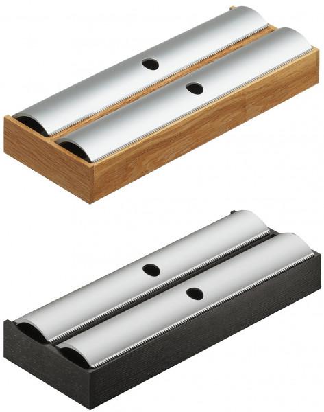 Häfele Folienhalter H4138 aus Holz Schubkasteneinteilung universell flexibel für Nennlänge 500 mm