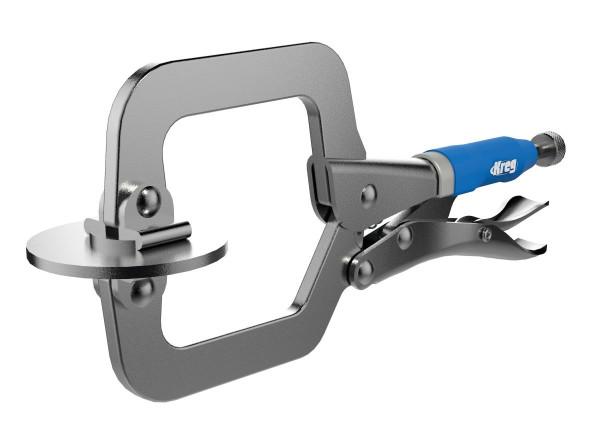 Schnellspannzwinge MICRO aus Stahl bis 51 mm Materialstärke