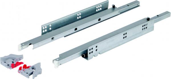 Häfele Unterflurführung bis 30 kg Stahl mit Selbsteinzug und Dämpfung