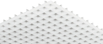 Häfele Lichtgitter H3705 Standard Kunststoff DIN 5035