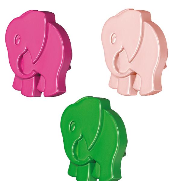 Häfele Möbelknopf Elefant Kinderzimmer Möbelgriff Kunststoff H10296 52x25 mm