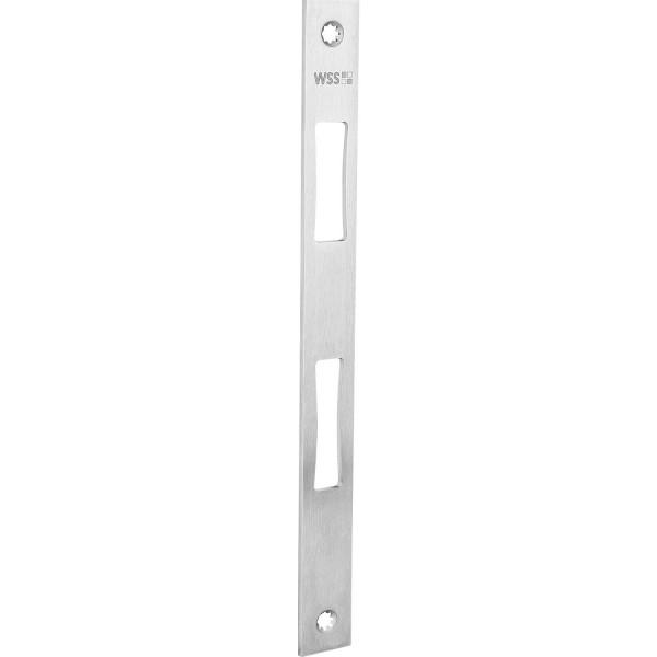 WSS Schließblech flach Edelstahl 270x24x3 mm