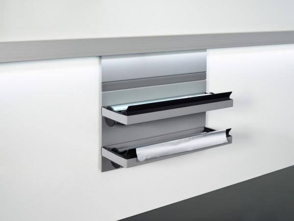 Kesseböhmer Folienabroller Linero MosaiQ Aluminium Titan grau