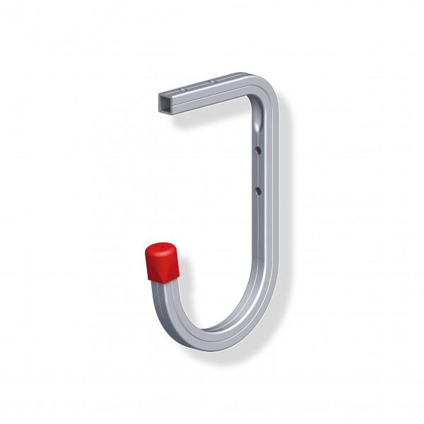 Alfer Wandhaken 110 x 165 mm Deckenhaken Aluminium blank bis 35 kg