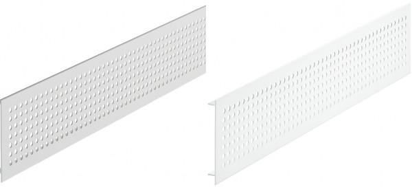 Häfele Lüftungsgitter H3634 eckig Aluminium mit gerillten Stegen
