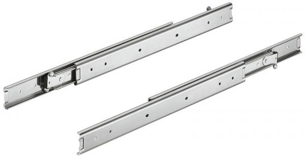 Häfele Schubladenschiene Vollauszug Accuride 3630 Tragkraft bis 45 kg Stahl seitliche Montage