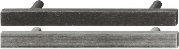 Häfele Möbelgriff H1033 Sockelgriff antik Bohrabstand 128 mm