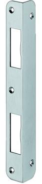 Häfele Winkelschließblech – DIN, für gefälzte Türen, 205 mm