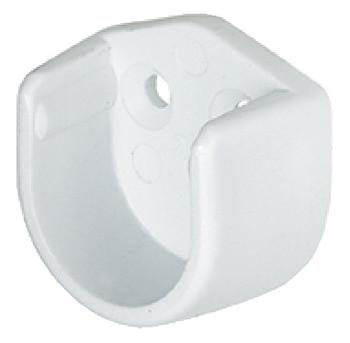 Häfele Schrankrohrlager Ø 18 mm zum Schrauben an die Seitenwand
