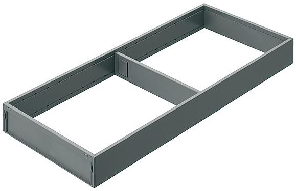 Blum Rahmen AMBIA LINE breit für Legrabox Höhe M und K Stahldesign ZC7S450(500/550/600)RS2