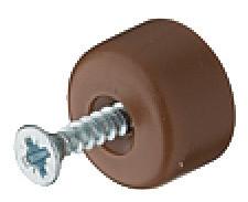 Häfele Bodenträger H3140 für Holz & Glas mit vormontierter Schraube