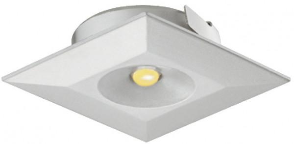 Häfele Einbauleuchte 350 mA quadratisch LED 4003 Loox Einbauspot 1 W