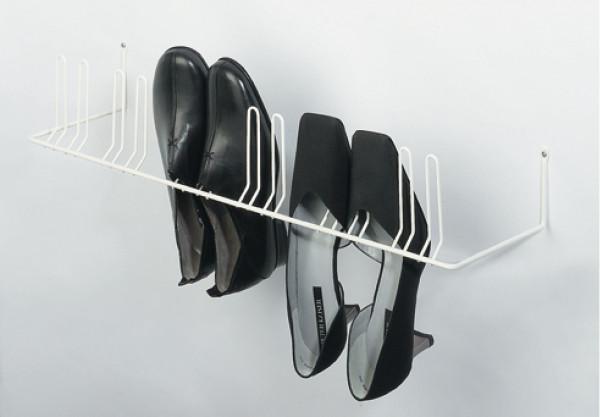 Schuhhalter zum Schrauben an die Wand für 4 oder 6 Paar Schuhe