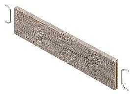 BLUM Querteiler AMBIA LINE für Rahmen breit Holzdesign zum Einschieben ZC7Q020SH