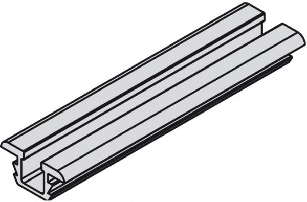 Häfele Lauf-und Führungsschiene EVO Aluminium EV1 Tragkraft 20 kg
