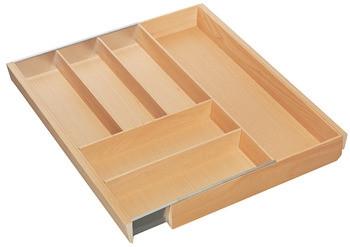 Häfele Besteckeinsatz H4113 Matrix Box P Holz Ausgleichsschale breit breitenverstellbar
