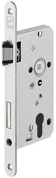 Startec Einsteckschloss für Holztüren PZW 72 Dornmaß 55 mm mit Flüsterfalle und Riegel