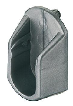 Häfele Schrankrohrlager oval mit Einbohrzapfen Ø 5 mm OVA 30x15 mm