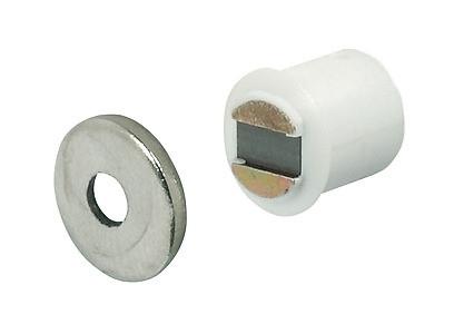 Häfele Magnetschnapper H6011 Haftkraft 1,8 kg für 9 mm Bohrung