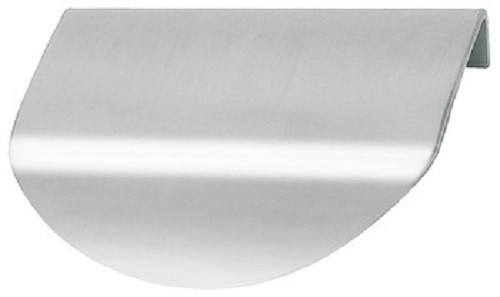 Häfele Kantengriff Möbelgriff Modell H1837 Edelstahl 80x55 mm