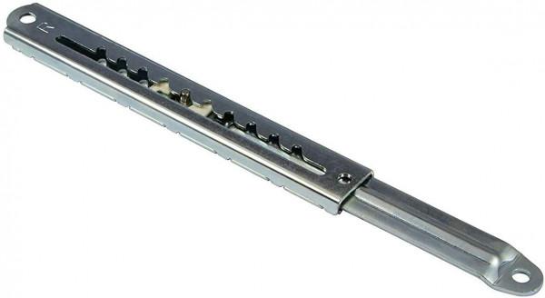 Rast-Hochstellbeschlag RASTOMAT aus Stahl 10-fach verstellbar