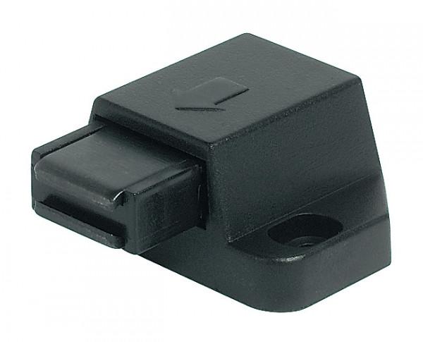 Häfele Magnet-Druckverschluss H6051 Haftkraft 1,8 kg zum Schrauben für Glastüren