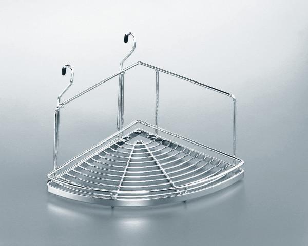 Kesseböhmer Eckablage Linero zum Einhängen in Relingrohr Stahl