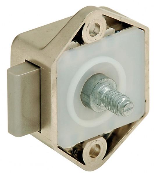 Riegelschloss PUSH-LOCK MINI mit Druckknopf-Verriegelung