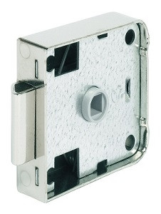 Fallenschloss PUSH-LOCK mit 7-mm-Vierkantnuss