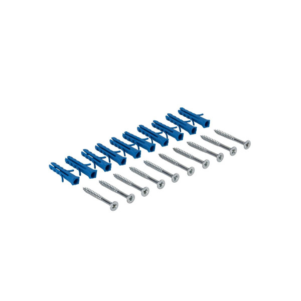 Befestigungsmaterial für Übergangsprofile Schrauben & Dübel silber