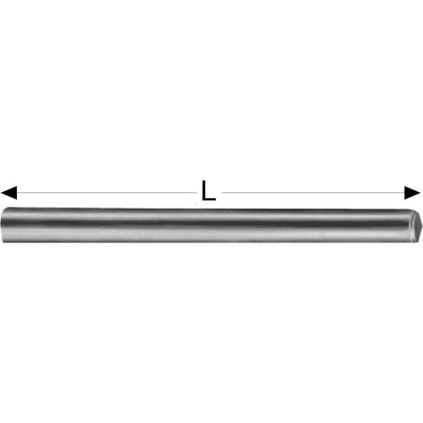 GedoTec Stabdübel galvanisch verzinkt beidseitig angefast verschiedene Größen