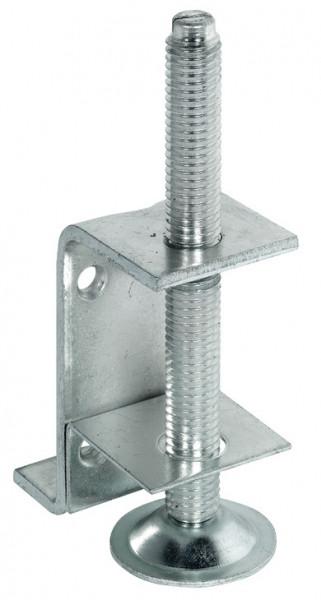 Häfele Sockelhöhenversteller H3956 mit Auflagewinkel zum Schrauben Tragkraft 130 kg