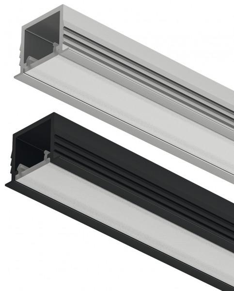 LOOX5 LED-Einbauprofil 1103 aus Aluminium Innenbreite 11 mm