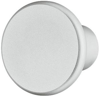 Häfele Möbelknopf H2039 silber eloxiert Schrankknopf Aluminium