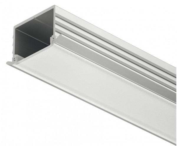 Häfele Einbauprofil Loox Tiefe 11 mm Aluminium Streuscheibe mattiert