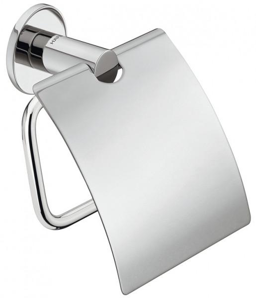 Häfele Toilettenpapierhalter mit Deckel H4051 chrom poliert