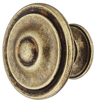 Möbelknopf H2095 antik braun