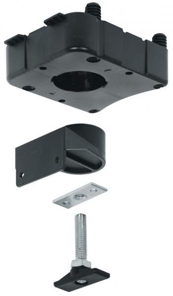 Häfele Sockelverstellsatz H3955 zur Verlängerung der Seitenwand rechteckige Befestigungsplatte
