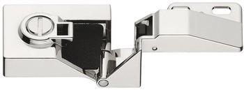 Häfele Glastürscharnier H1415 für Türmontage ohne Glasbohrung Eckanschlag