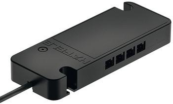 Häfele 4-Kanal-Funkempfänger Loox Basic für weiße LEDs