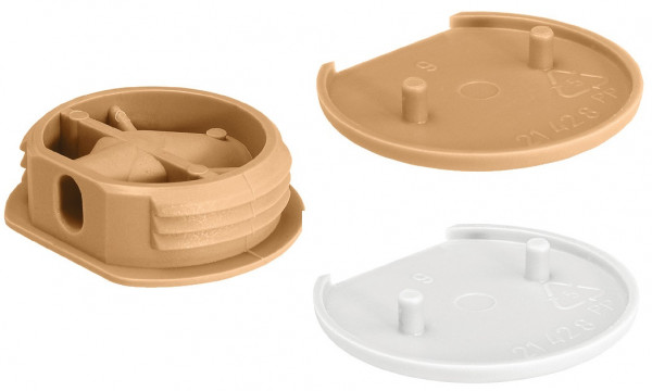 Korpusverbinder CARAVAN aus Kunststoff Ø 26 mm