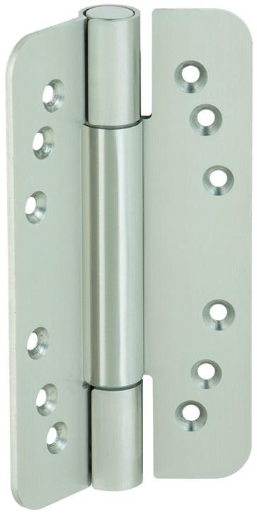 Häfele Startec Objekttürband, Größe 160 mm - für ungefälzte Türen, Edelstahl