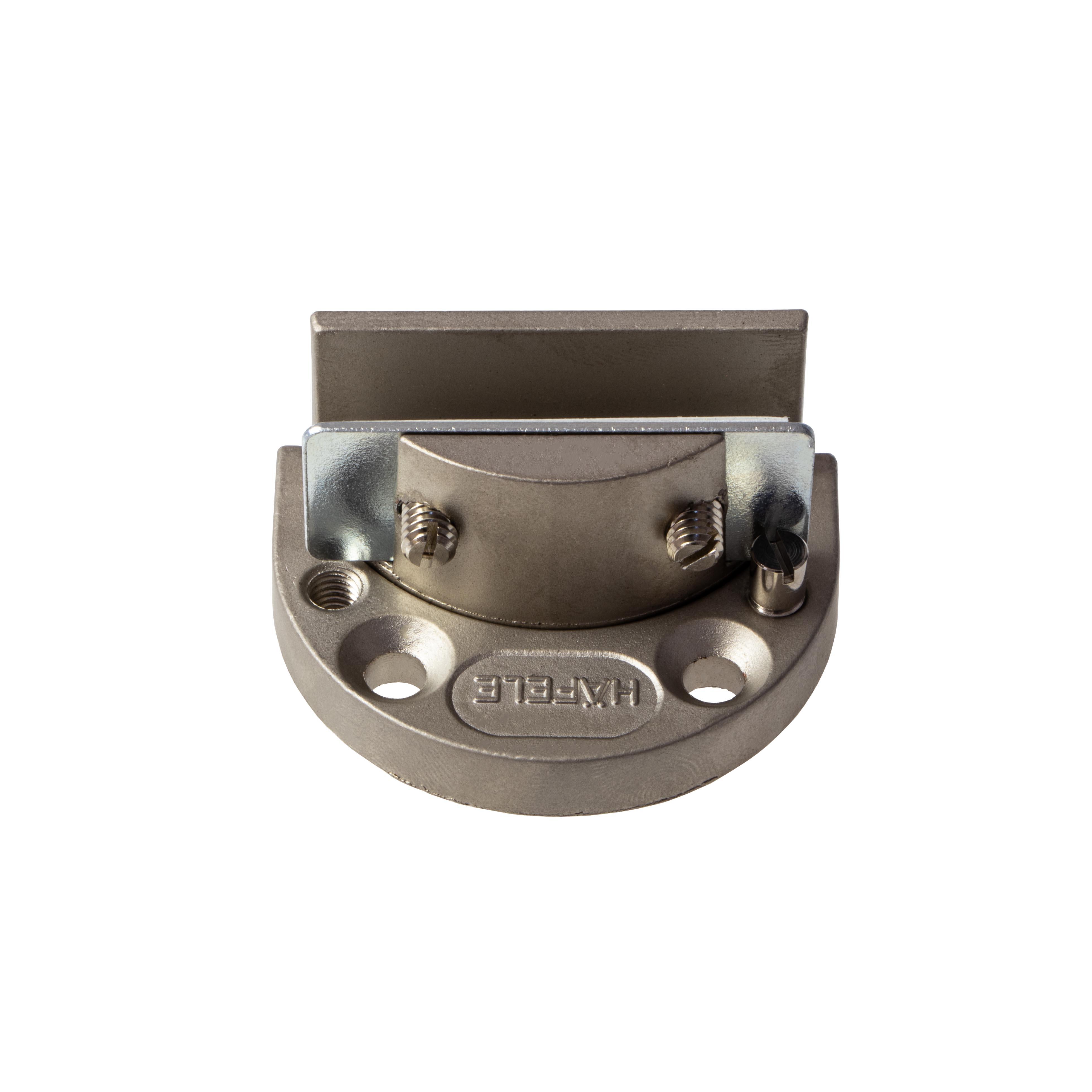 Häfele Glastürscharnier H1423 Glarior für Türmontage ohne Glasbohrung