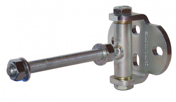 Zauntorband mit breiter Lasche Türangel verstellbar Edelstahl V2A rostfrei